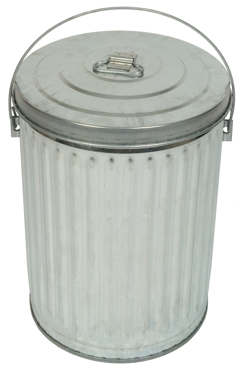 Galvanized Cans and Lids