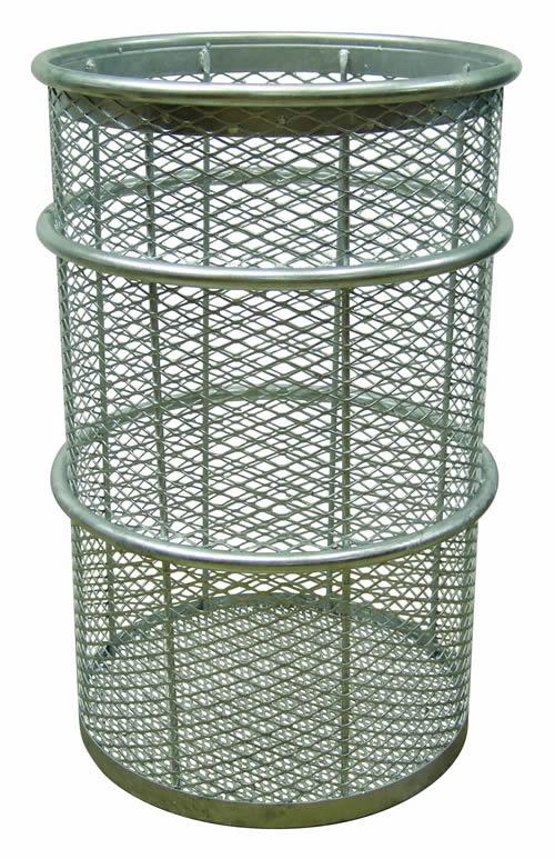 55 Gallon Galvanized receptacle