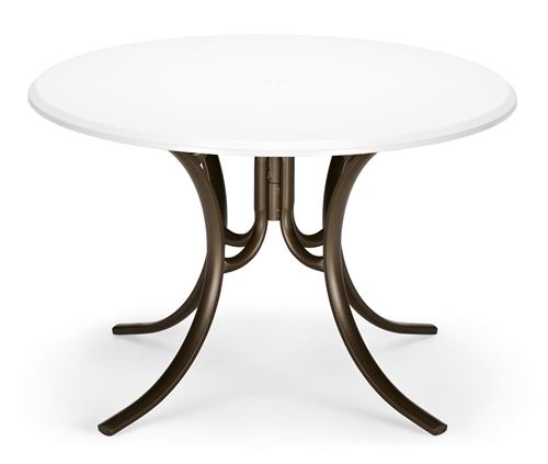 "42"" Round Werzalit Dining Table"