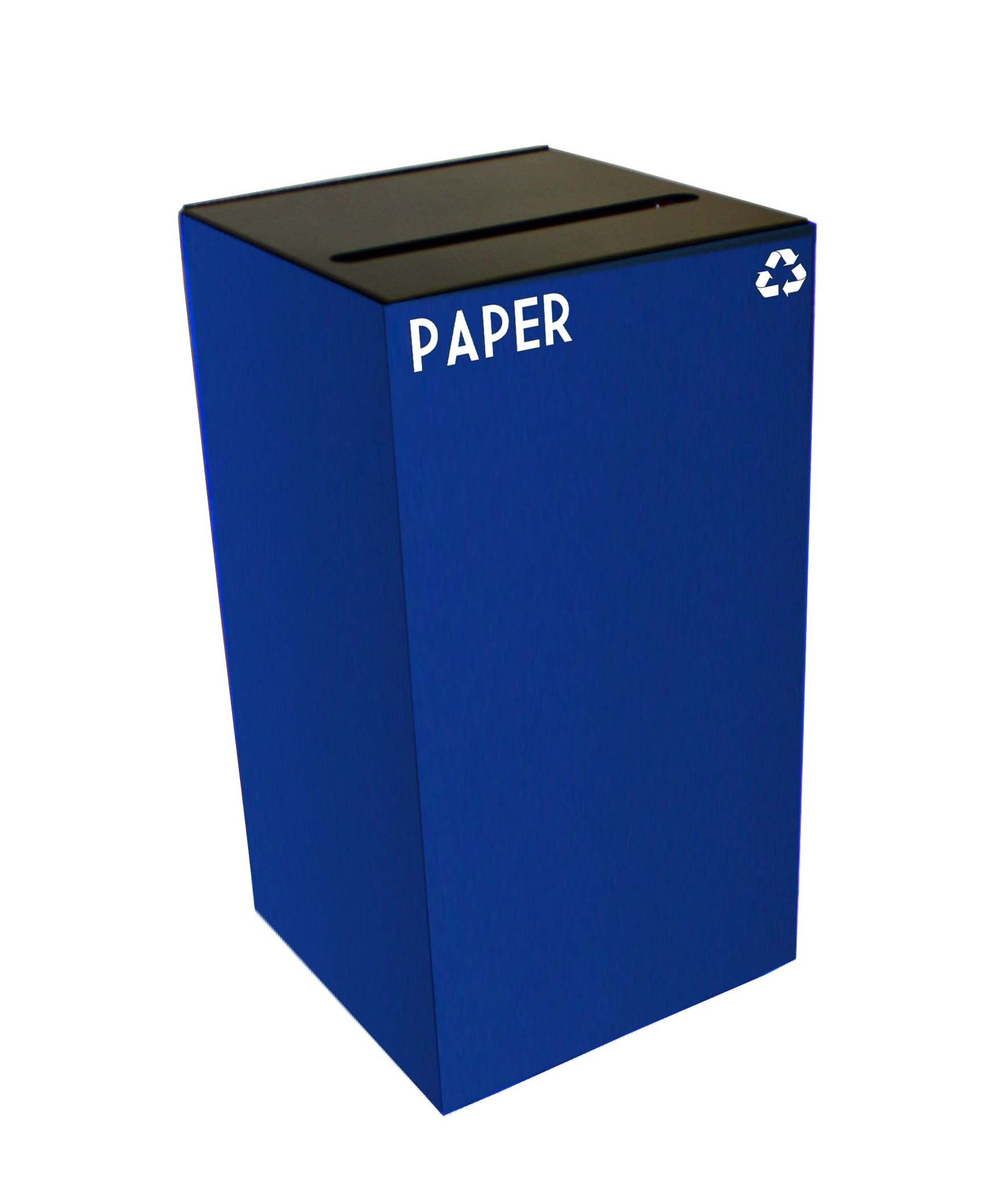 Indoor Square Recycling Papers Container