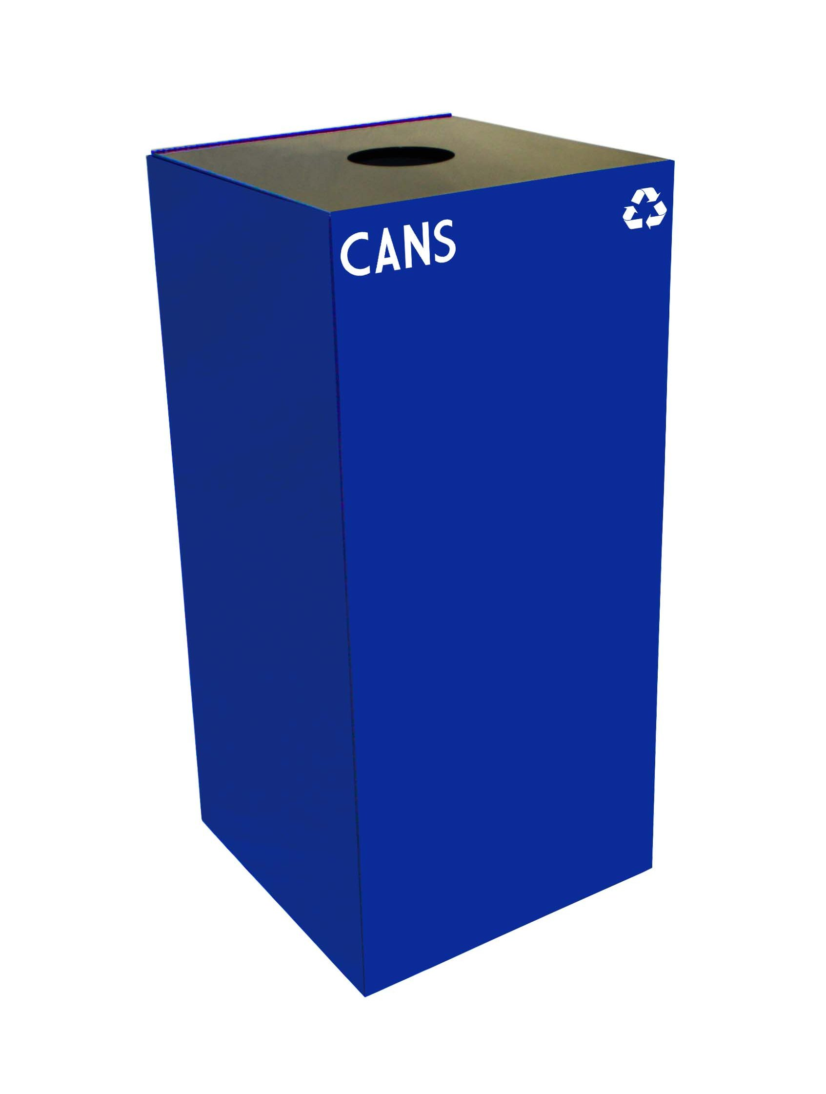 Square Recycling Cans Container