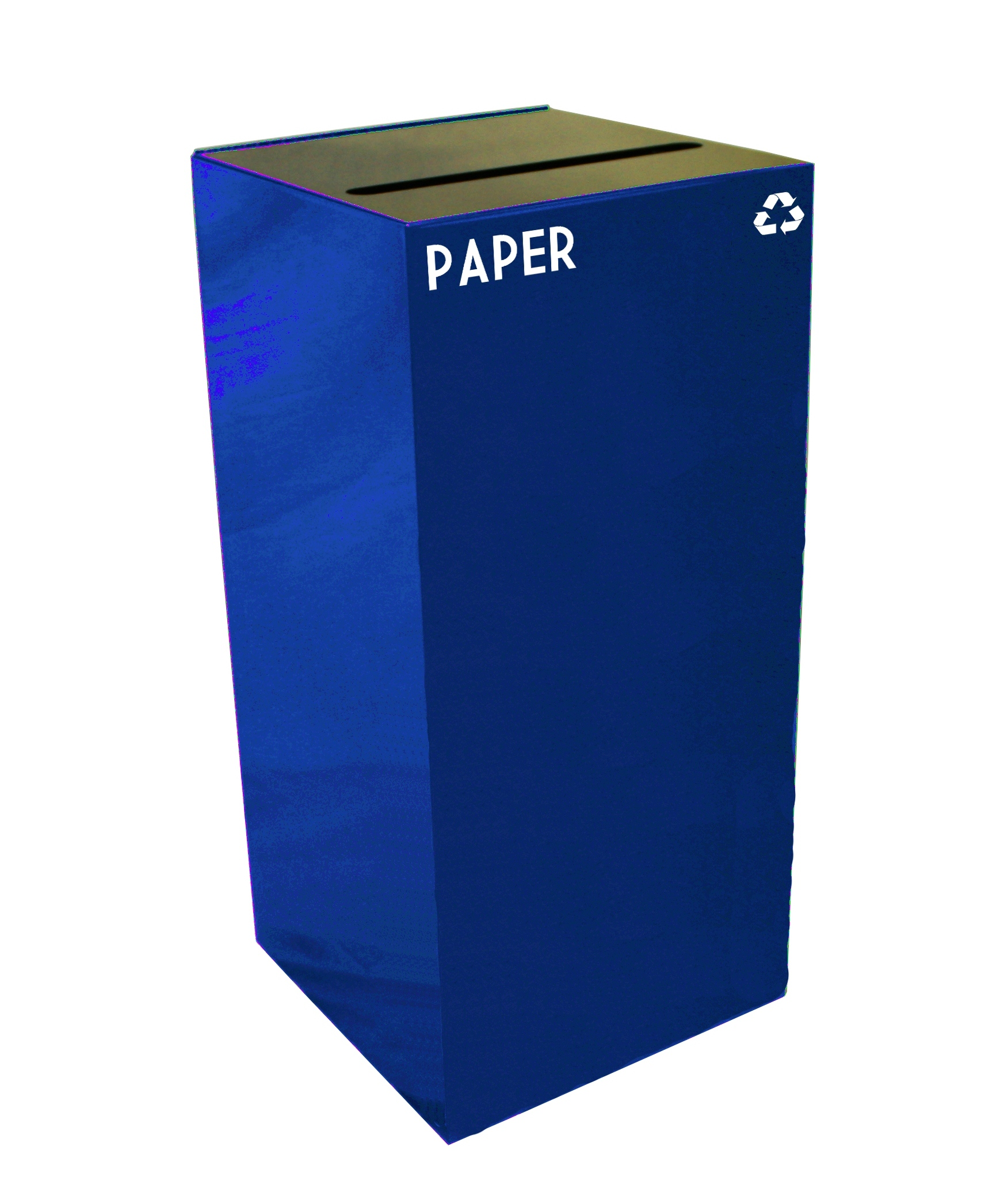 Square Recycling Paper Container