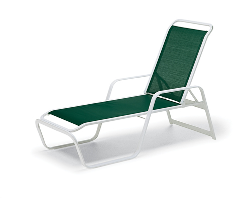 Vanese Sling Stacking  Four Position Chaise