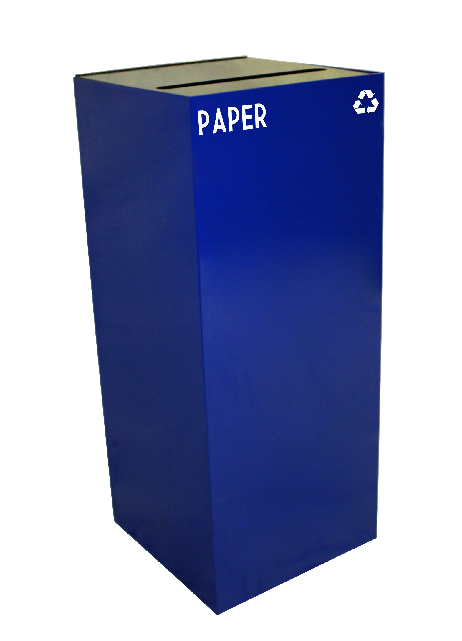 Geocube Collection Square Recycling Paper Container