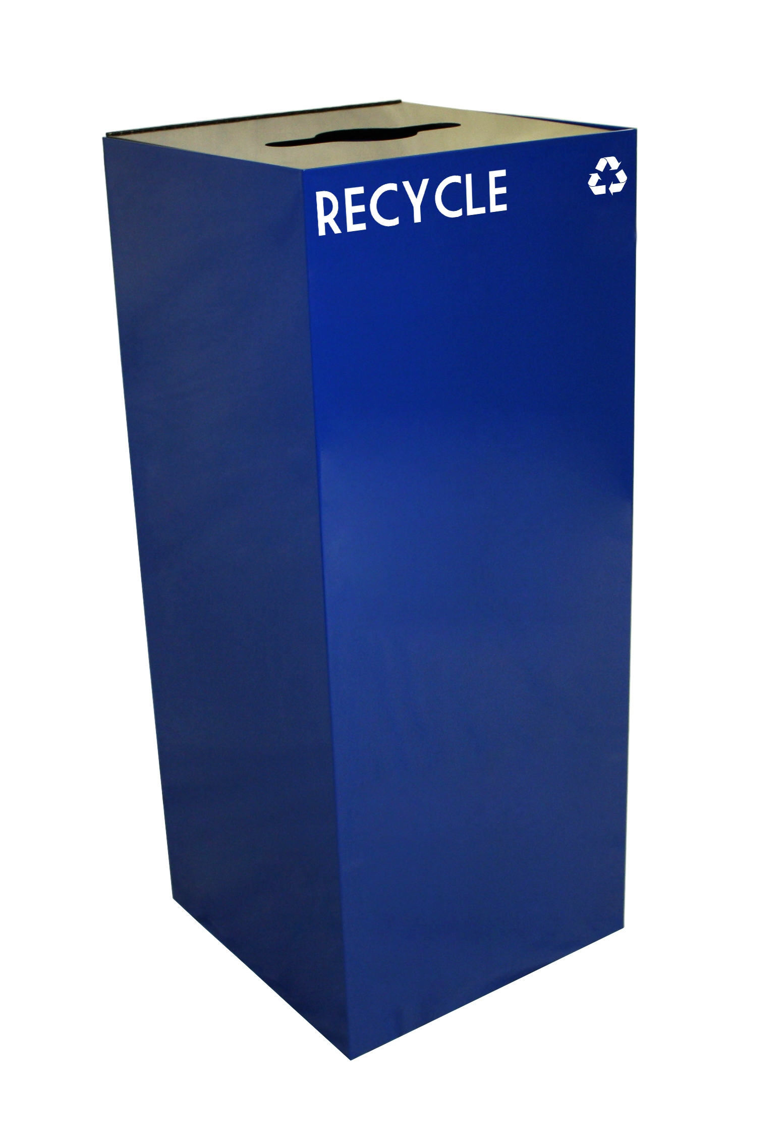Geocube Collection Square Recycling Container