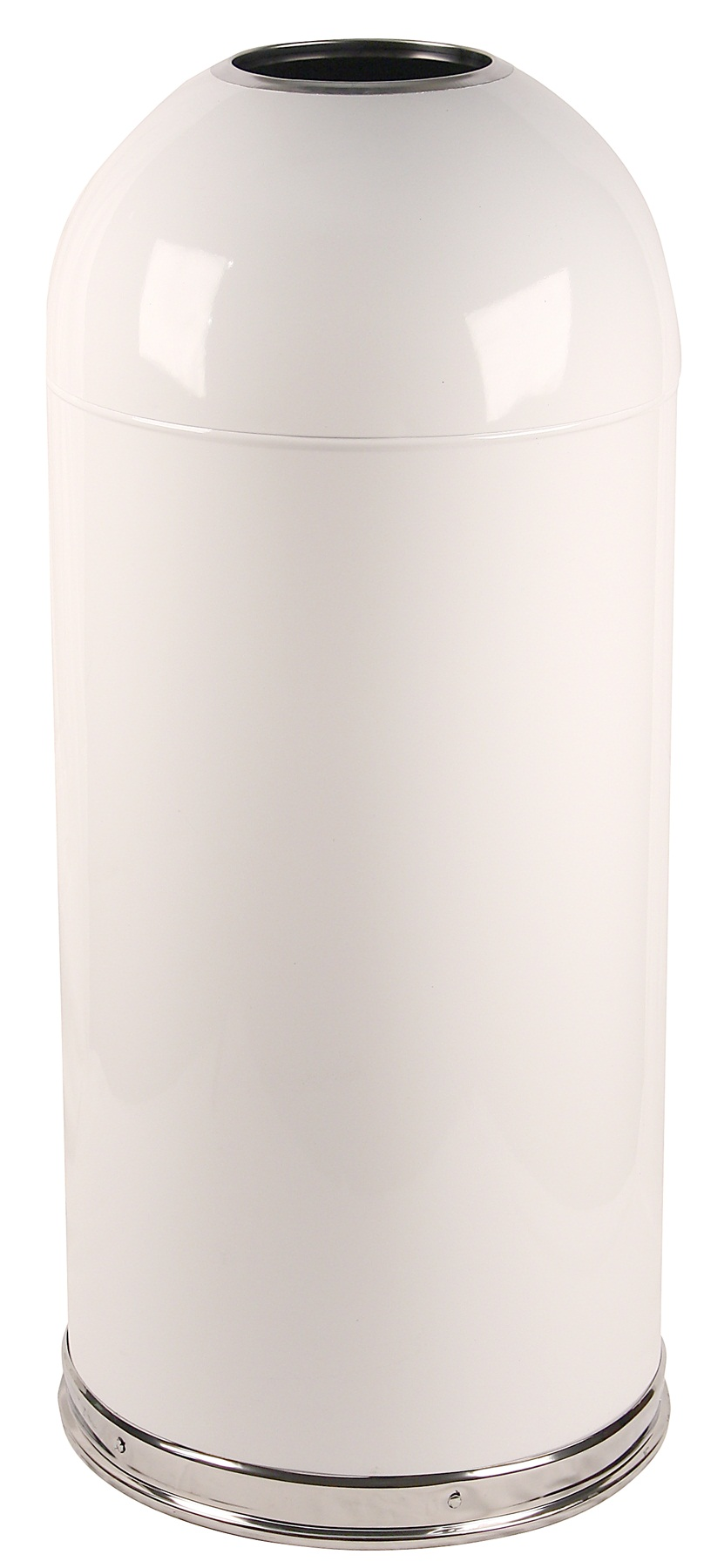 15 Gallon Dometop Receptacle with Open Top