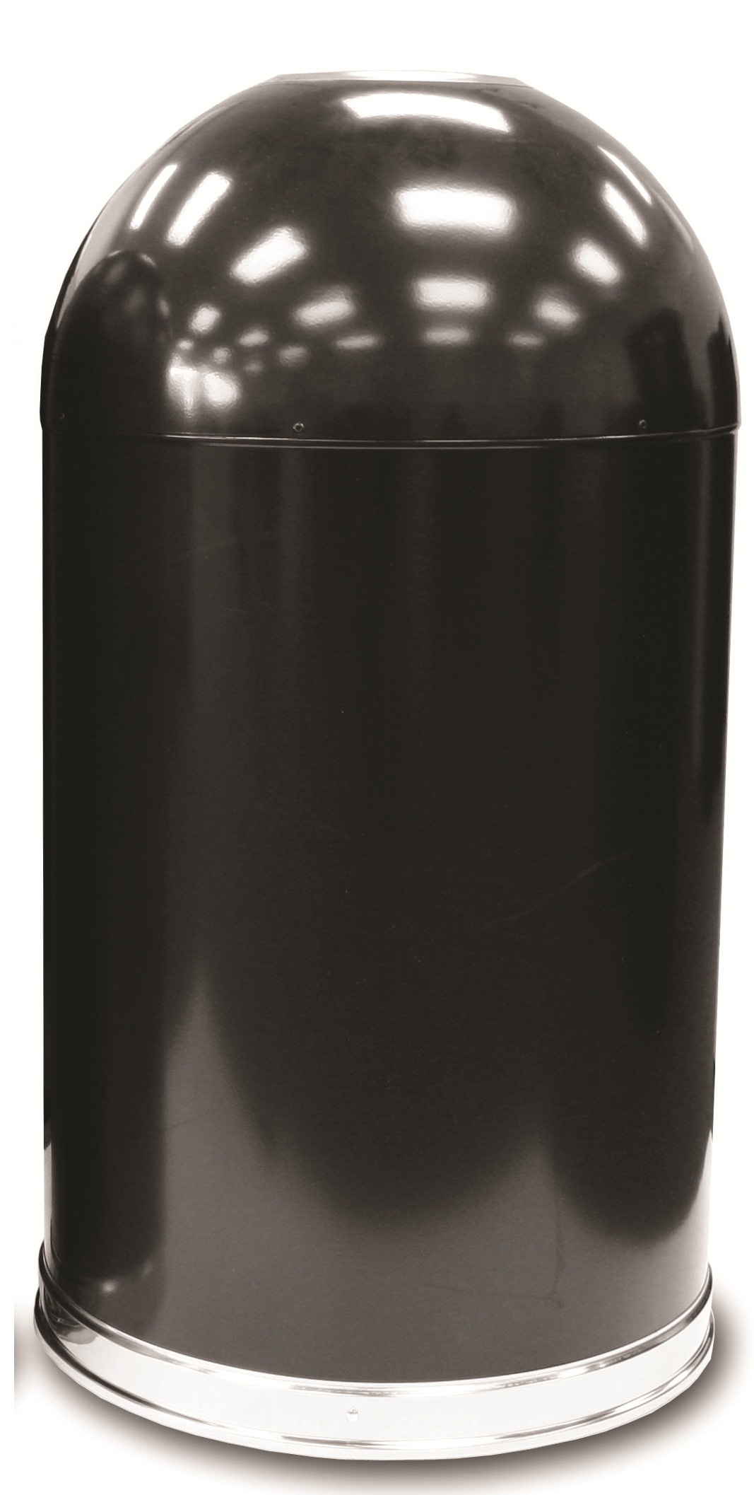 Open Top Dome Trash Receptacle