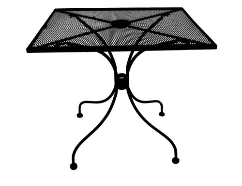 "24"" X 30"" Micro Mesh Rectangle with Umbrella Hole"