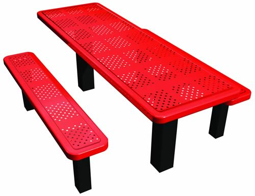 Permanent Mount Perforated Picnic