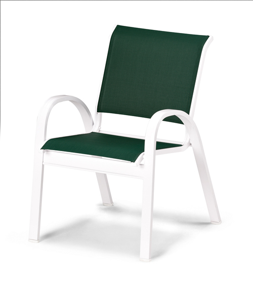 Fortis Sling Stacking Arm Chair