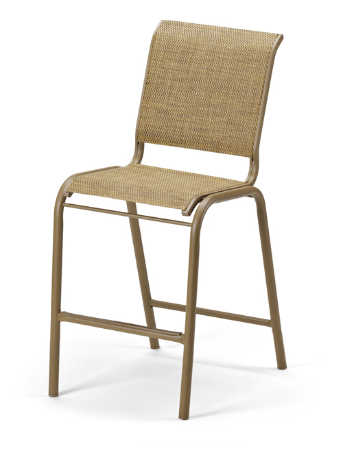 Reliance Sling Counter Height Stacking Armless Chair