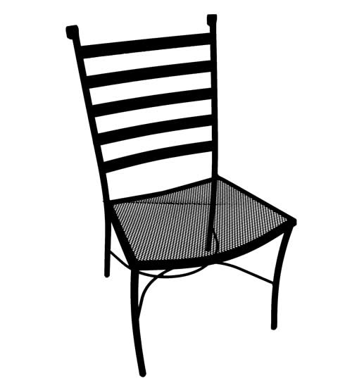 Del Mar Cafe Chair