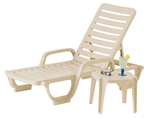 Bahia Stacking Adjustable Chaise