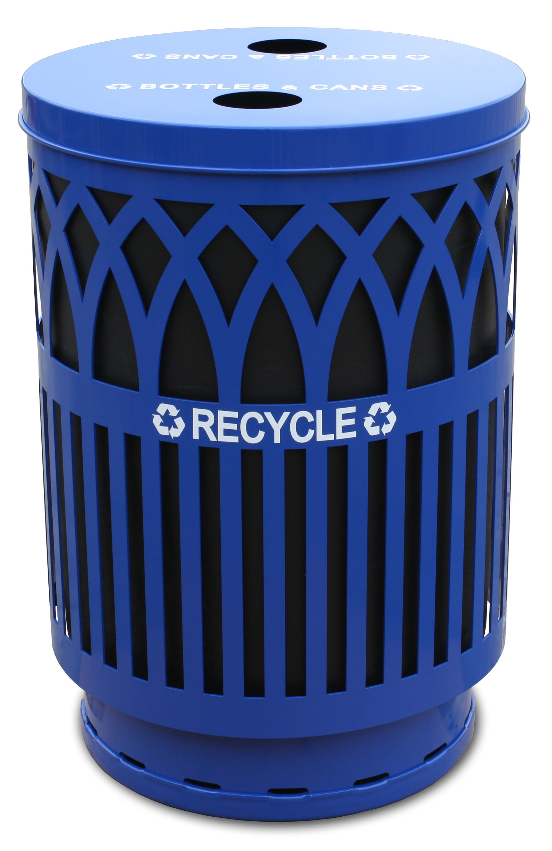 Outdoor Covington Recycling Receptacle