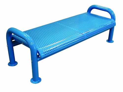 Backless U-leg Perforated Benches