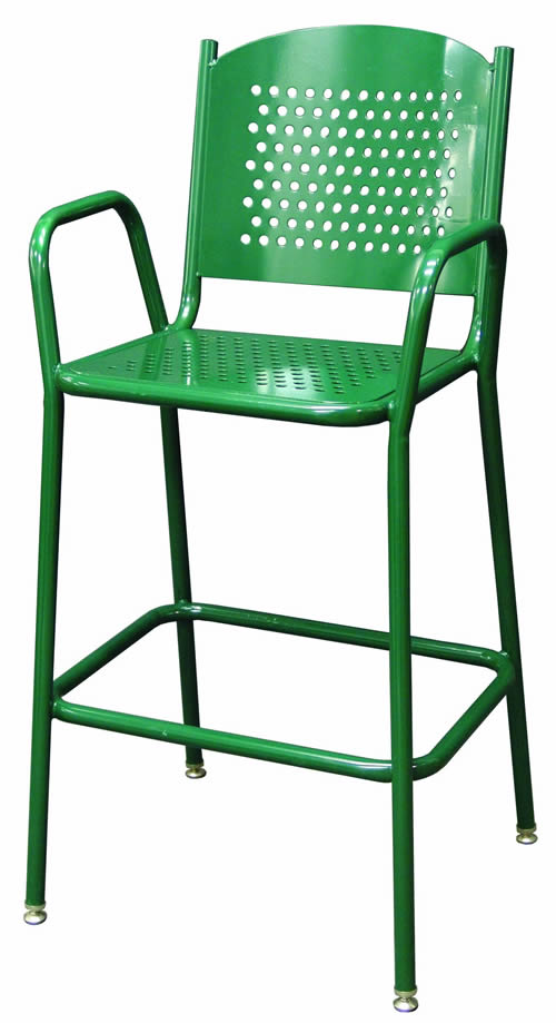 Perforated Tall Barstool Chair
