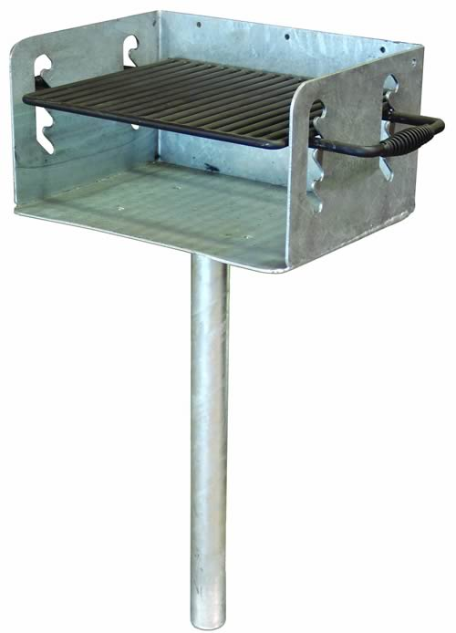 Standard In Ground Mount Galvanized
