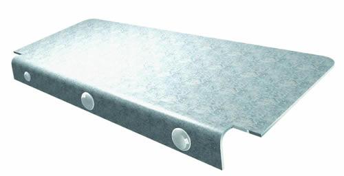 Grill Utility Shelf Galvanized