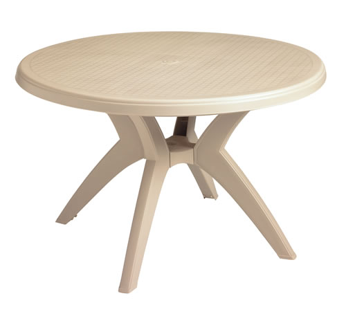"Ibiza 46"" Round Pedestal Table"