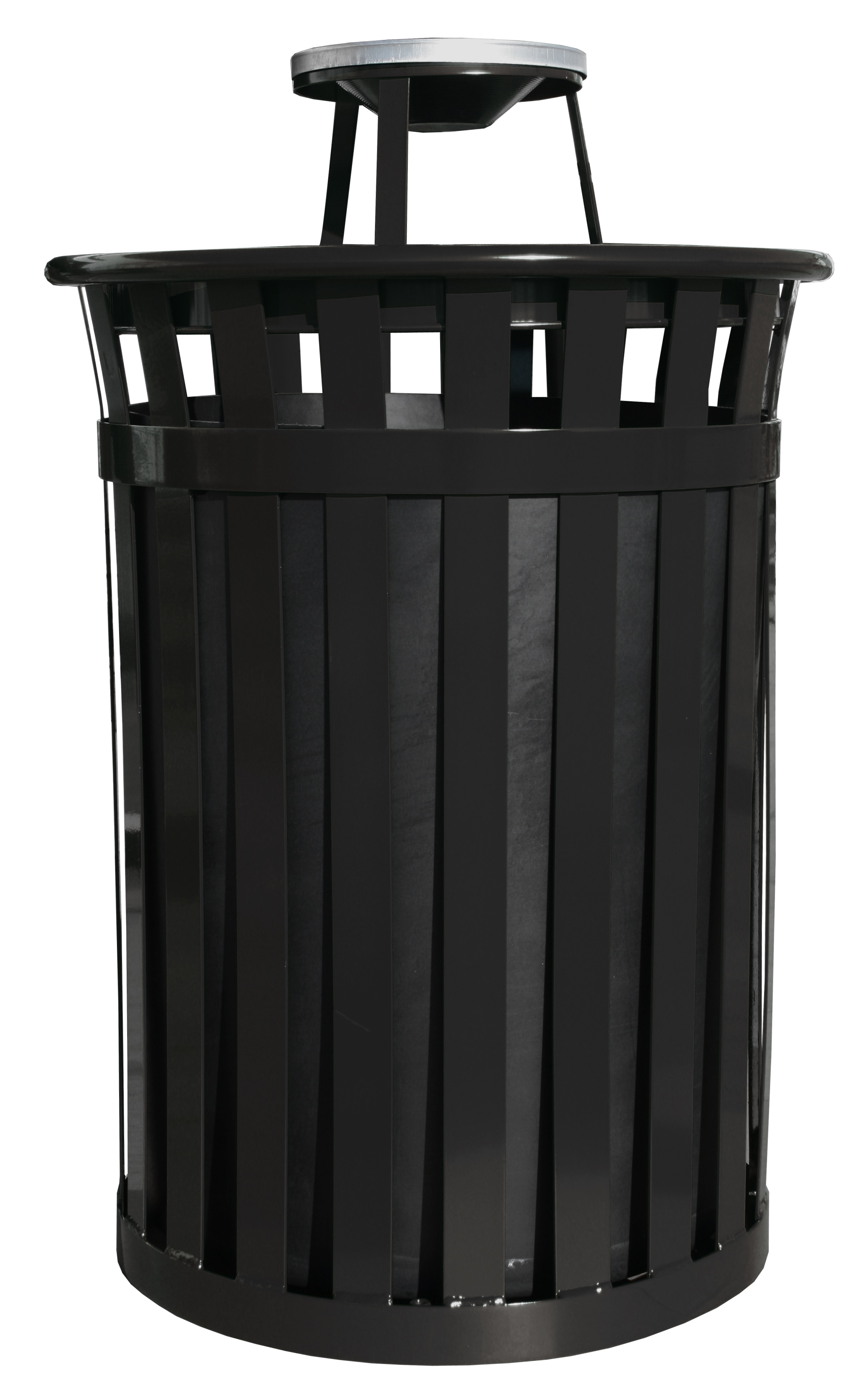 Large Outdoor Trash Receptacle