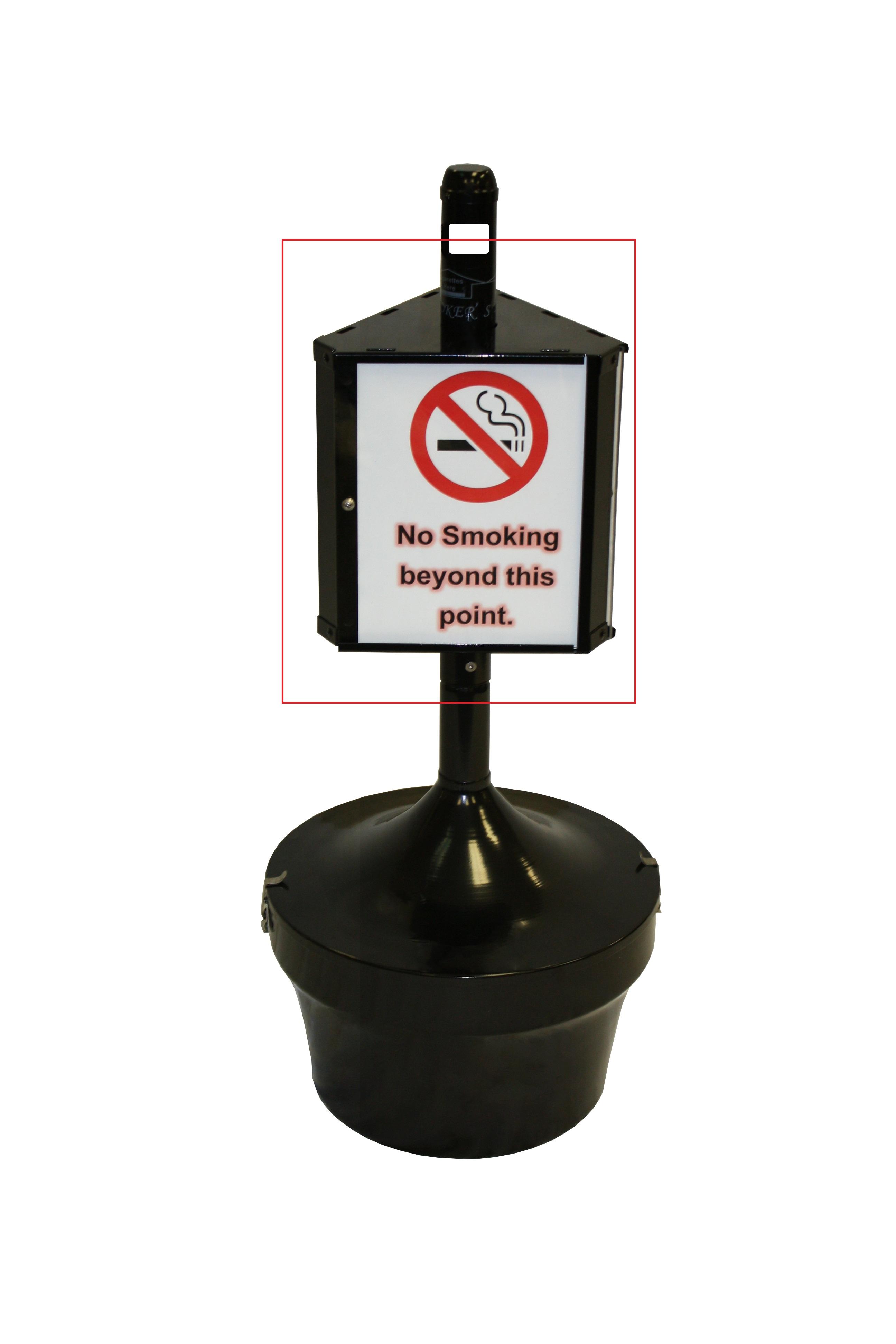 Smoker Mirage Message Center, Outdoor