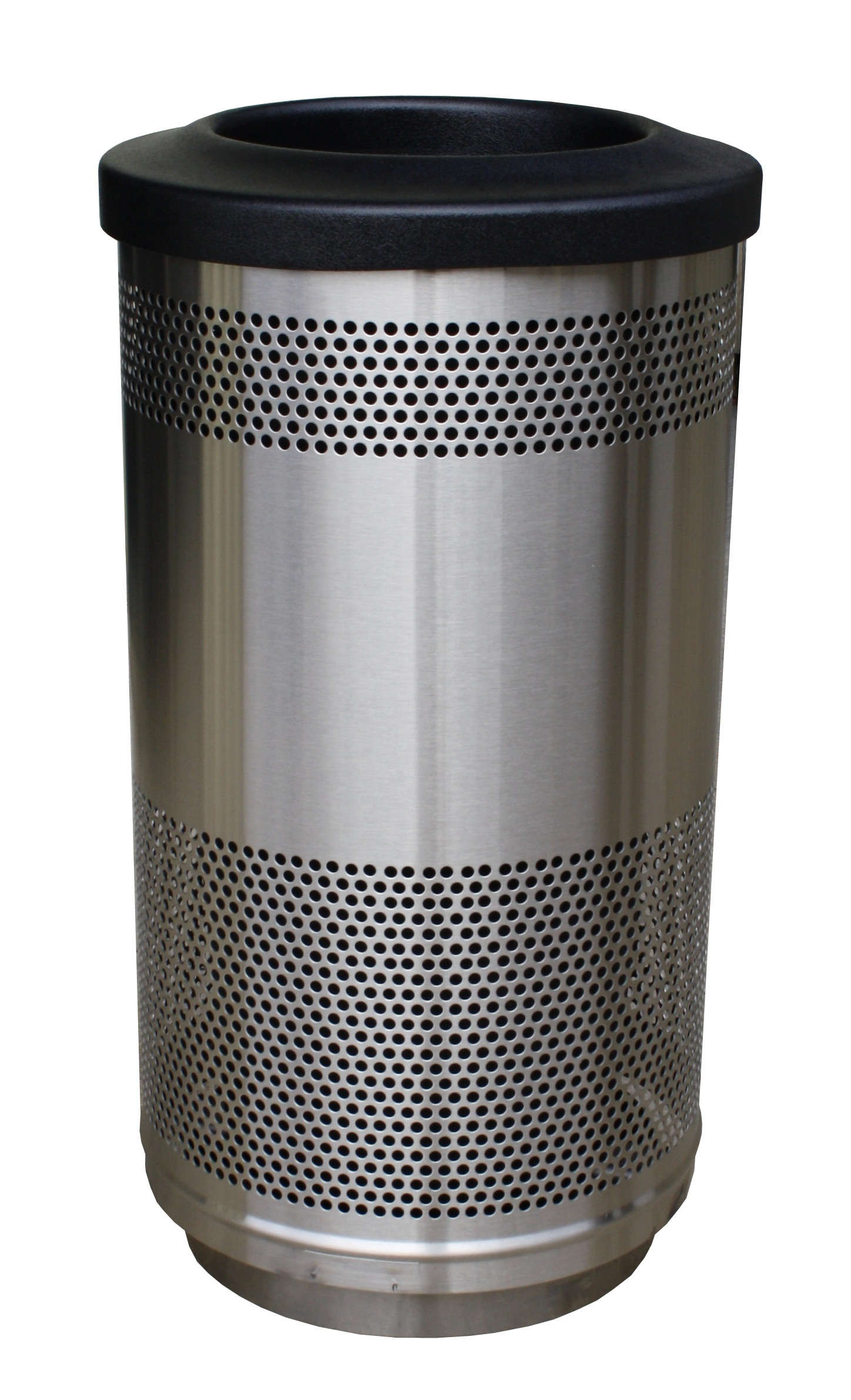 Flat Lid Perforated Receptacle