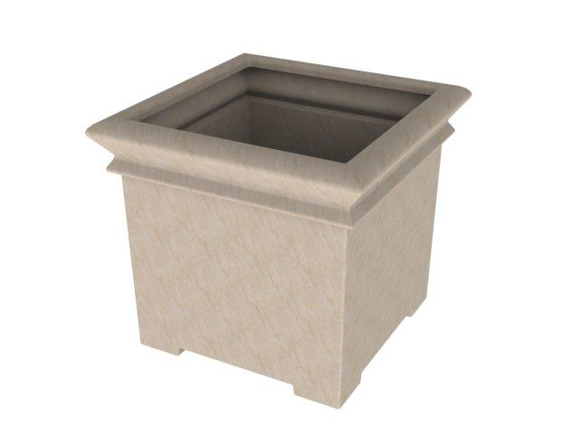 Square Footed Planters