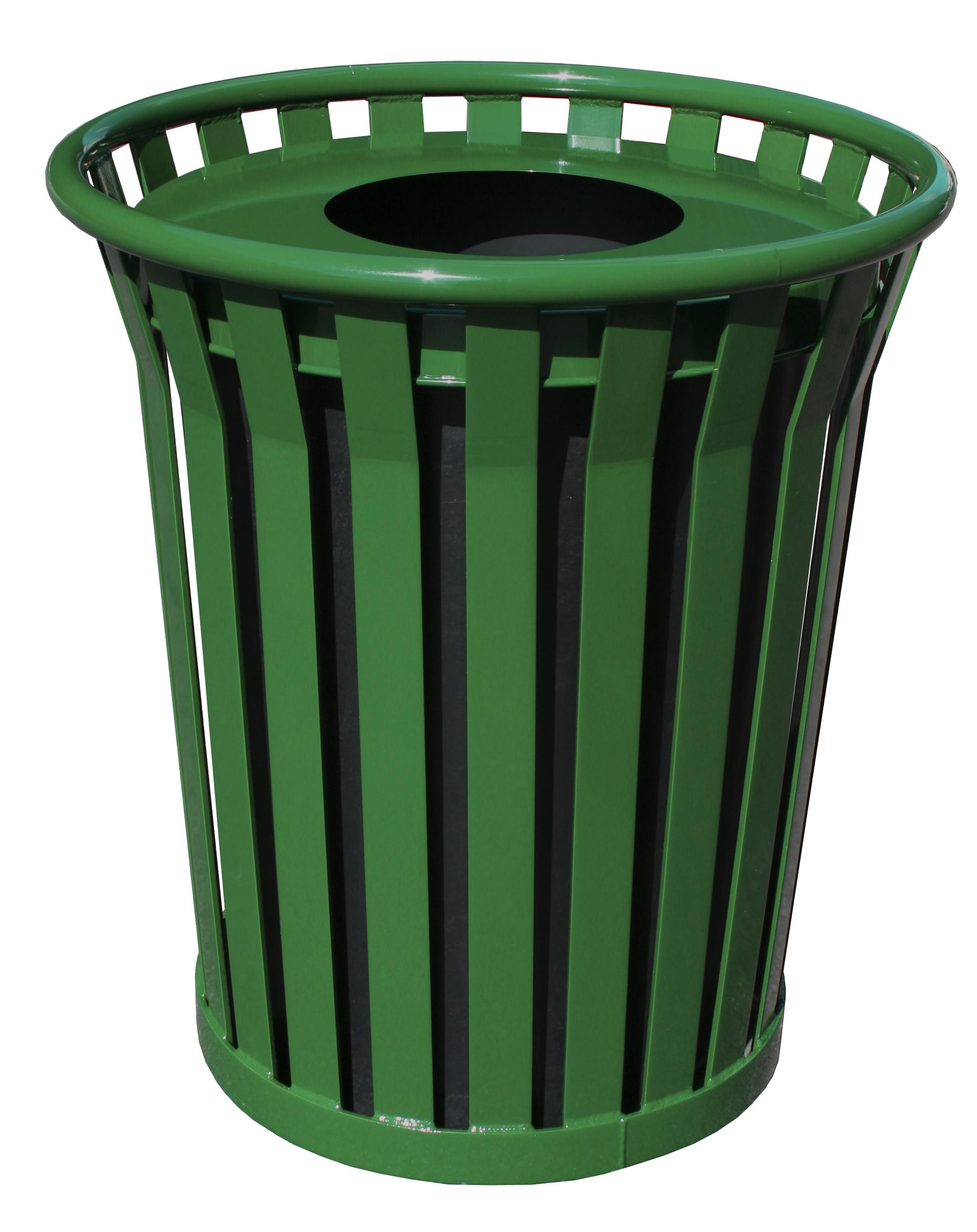 Outdoor trash receptacle, Outdoor