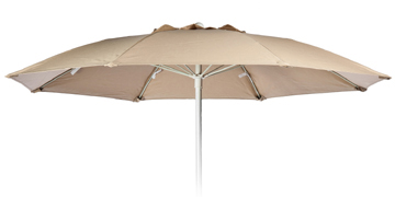 7.5' Fiberglass  Rib Crescent Patio Umbrella