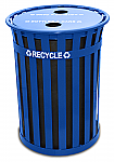 Outdoor Oakley Recycling Container