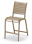 Reliance Strap Stacking Armless Bar Height Chair