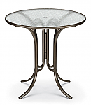"42"" Round Acrylic Top Counter Height Table"