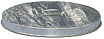 Galvanized Flat Top Drum Lid