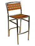 Curacao Barstool Armless Chair