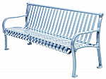 Curved Formed Straight Ribbon Benches