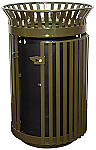 Heavy Duty Queen City Waste Receptacle
