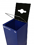 Square Recycling Container