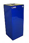 Geocube Collection Square Recycling Cans Container