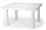 "42"" Sq. Marine Grade Polymer Top Conversation Table"