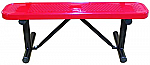 Backless Standard Perforated Benches