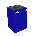 Square Recycling Containers For Cans