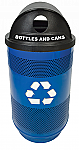 Bottles and Cans Perforated Receptacle