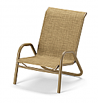 Reliance Sling Stacking High Back Sand Chair w/arms