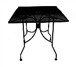 Micro Mesh Square with Umbrella Hole