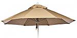 7.5 Octagon Wood  Rib Market Umbrella