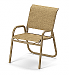 Reliance Sling Stacking Arm Chair