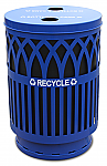 Outdoor Covington Recycling Receptacle