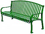 Curved Formed Arched Ribbon Benches