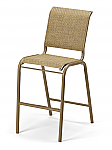 Reliance Sling Bar Height Stacking Armless Chair