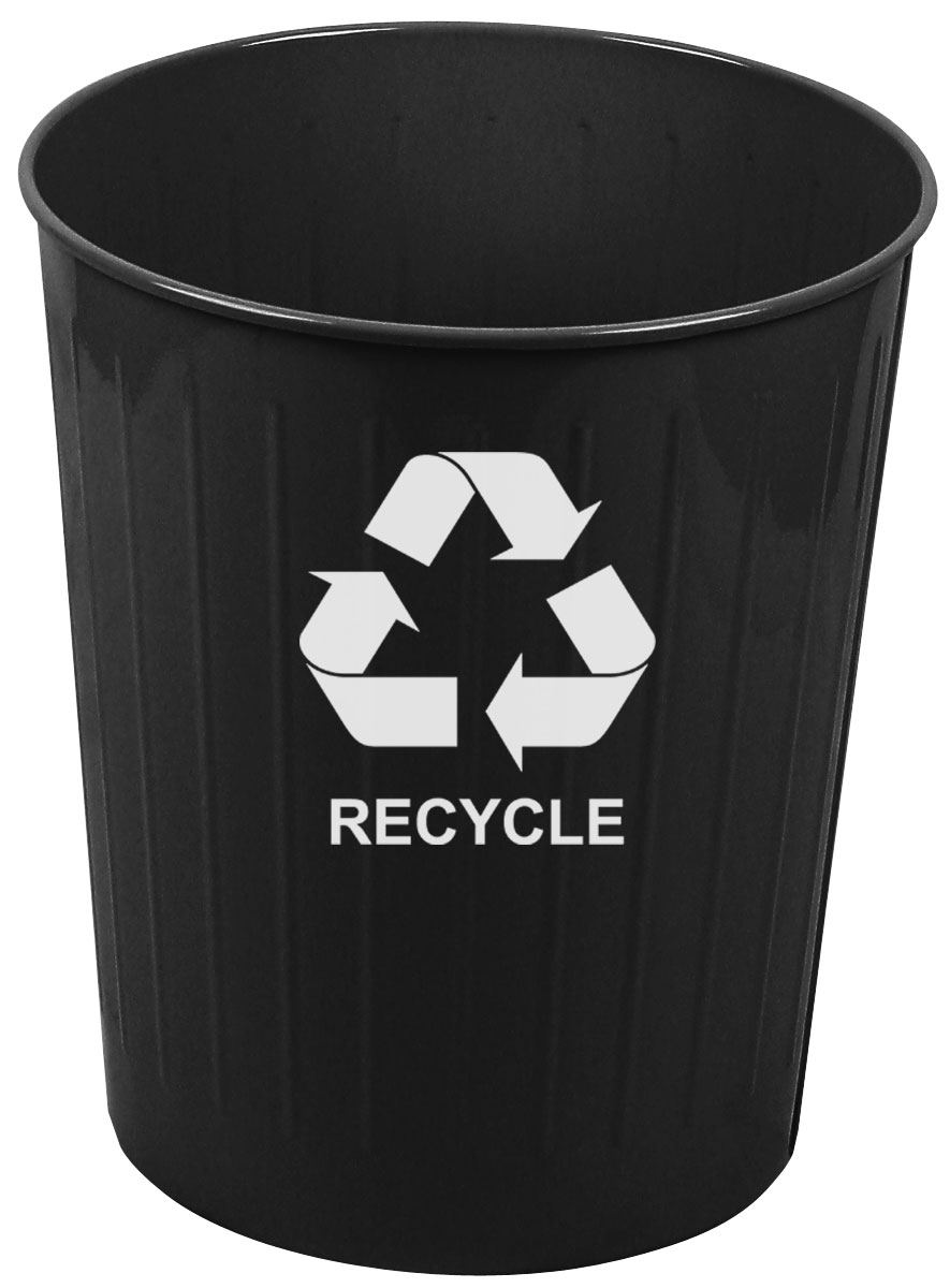 Medium Round Recycling Wastebasket